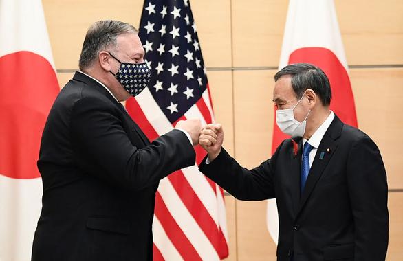 Tại Tokyo, Ngoại trưởng Mỹ lên án 'hoạt động nham hiểm' của Trung Quốc