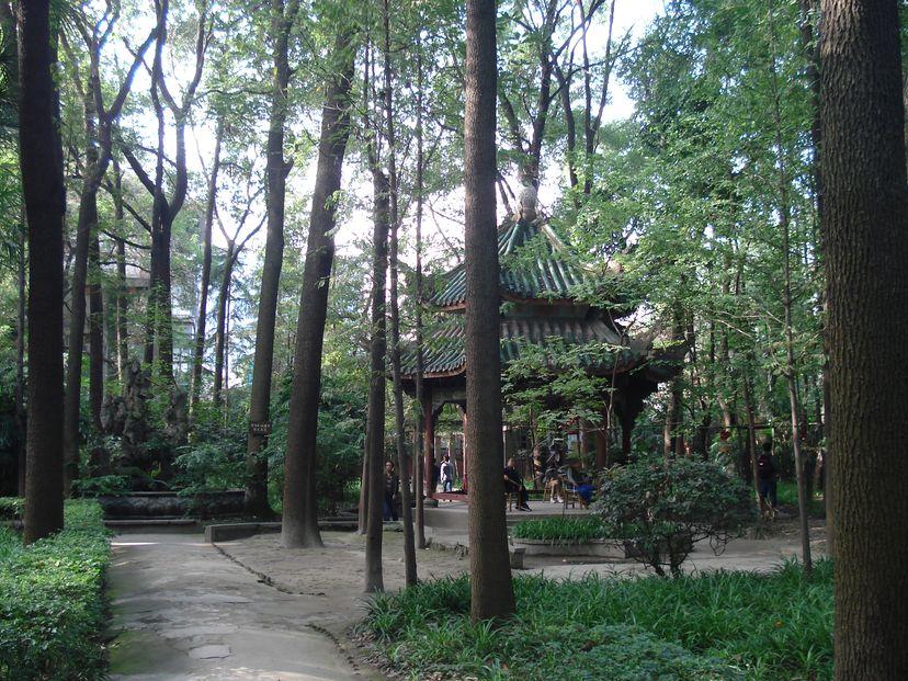 Wuhou Temple Chengdu China 2