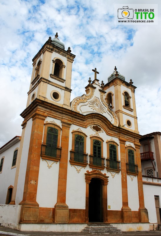 Fachada da igreja de Nossa Senhora da Corrente em Penedo, Alagoas