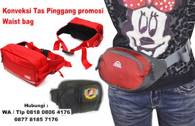 Konveksi Tas Pinggang promosi / Waist bag – Tas promosi