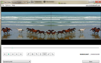 تحميل برنامج تعديل الفيديو المقلوب و تدويره Free Video Flip and Rotate