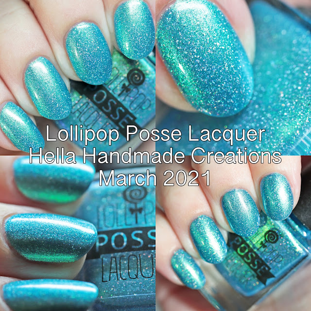 Lollipop Posse Lacquer Hella Handmade Creations March 2021