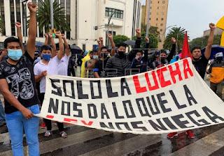 Los padres de Ayotzinapa piden a las autoridades mexicanas acelerar la investigación