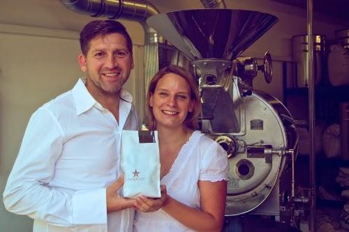 Roaststar: Bernd Ullmann und Elisa Foltyn