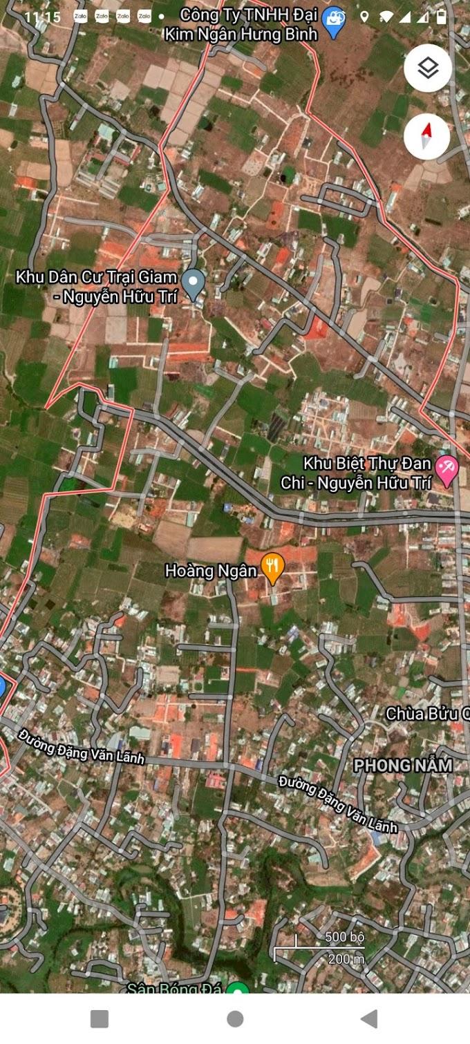 Bán nhanh 70m2 đất Full thổ cư xã Phong Nẫm - Phan Thiết