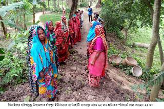 ঝিনাইদহে কর্মসৃজন প্রকল্প  বরাদ্দ ১৬ কোটি , তালিকায়   ব্যবসায়ী  প্রবাসি  চাকরীজীবী