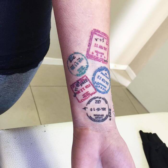20 Tattoo Ideas Every Traveler Is Going To Love
