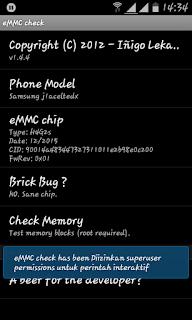 emmc check tool