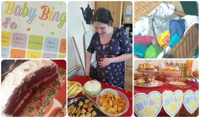 Red Rose Baby - 38 Weeks Update Baby Shower