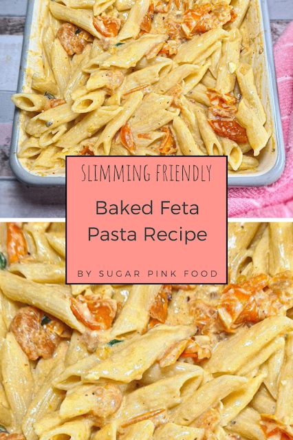 Tomato & Feta Pasta Trend Recipe | Slimming World Friendly