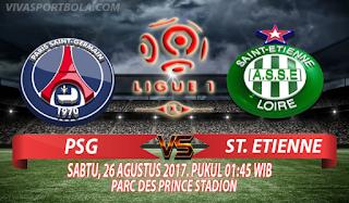 Prediksi Paris Saint Germian vs Saint Etienne 26 Agustus 2017