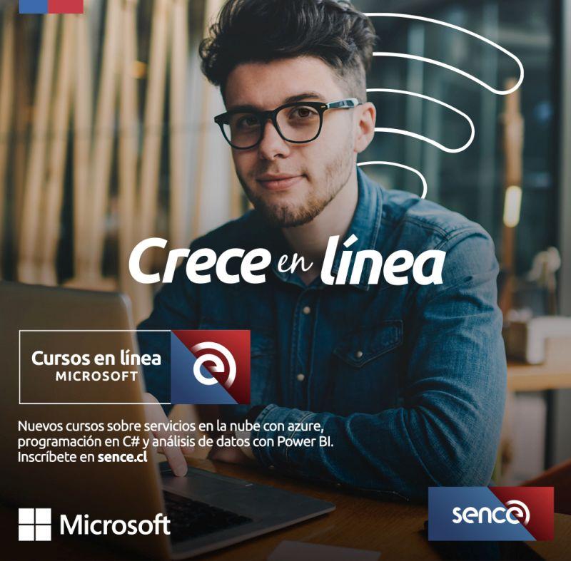 Cursos gratuitos de Microsoft para capacitaciones laborales en Chile