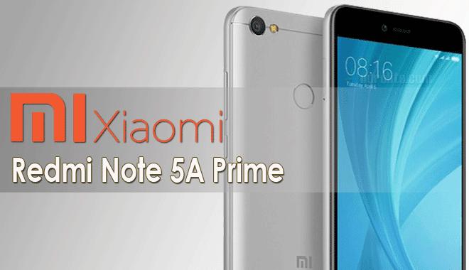 Harga Terbaru HP Xiaomi Redmi Note 5A Prime