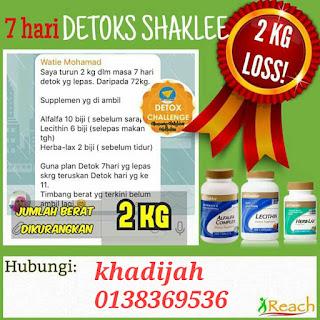 Set detox shaklee