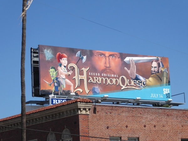 HarmonQuest series premiere billboard