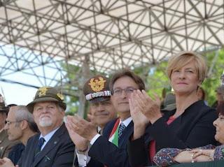 Il Ministro della Difesa Roberta Pinotti