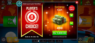 8 ball pool New Offers