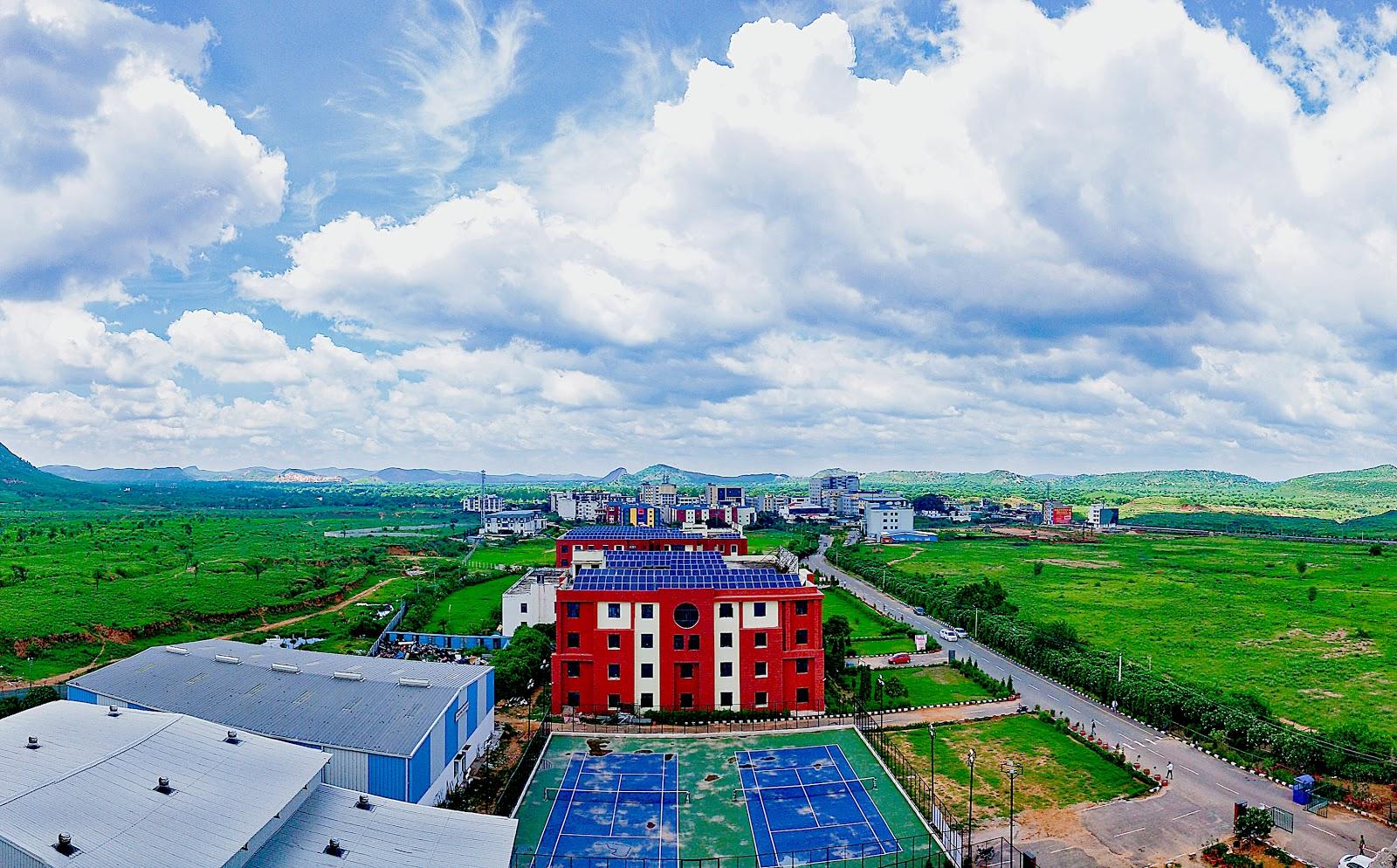 Nims University Campus Images