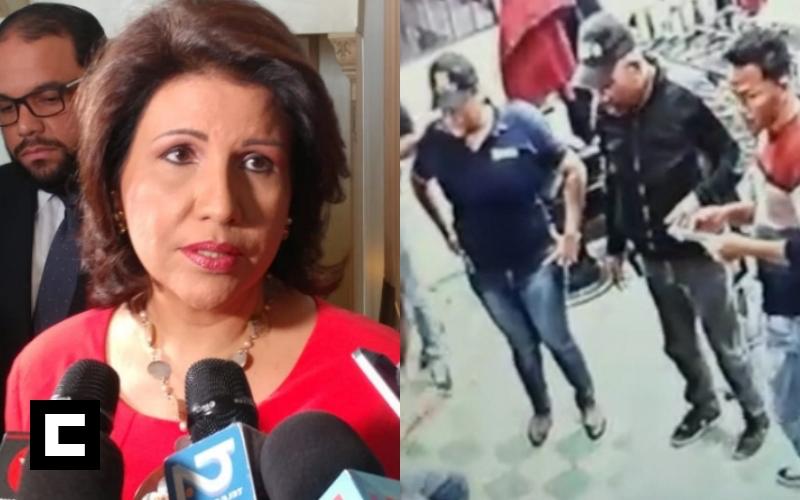 Margarita Cedeño le manda fuego a la DNCD