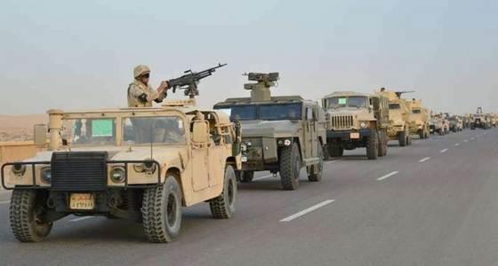 مطارده حقيقه للجيش المصرى