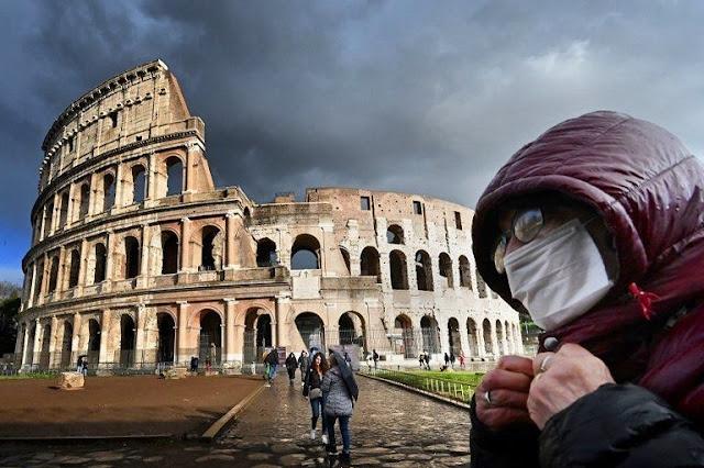 Rekor Corona! Italia Satu Hari 368 Orang Tewas