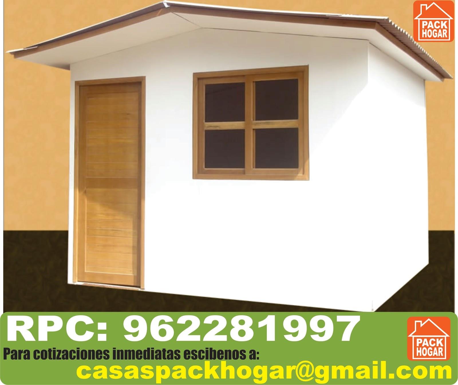 Casetas prefabricadas con placas de cemento for Casetas prefabricadas pequenas
