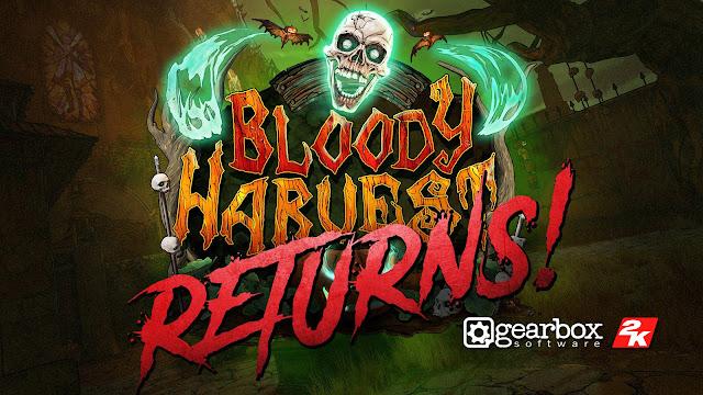 borderlands 3 bloody harvest returns free seasonal content update halloween event pc ps4 xb1 gearbox software 2K games