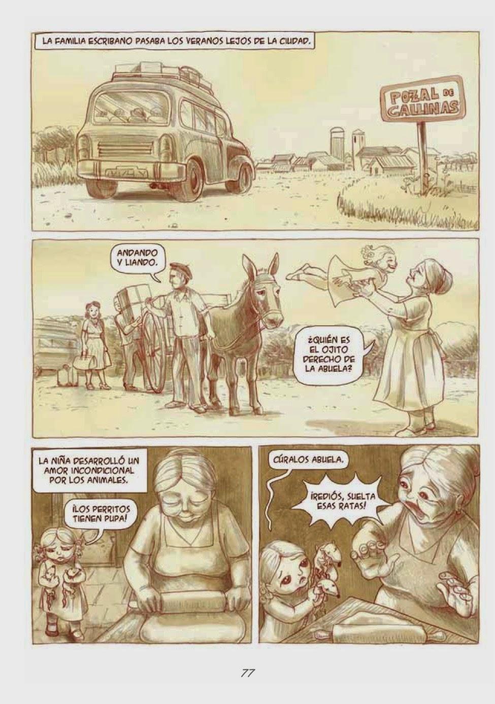 Recuerdos de Perrito de Mierda # 77 by Marta Alonso Berna, Dibbuks, March, 2014