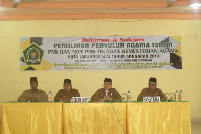 Kemenag Tanjungbalai Gelar Pemilihan Penyuluh Agama Islam Teladan