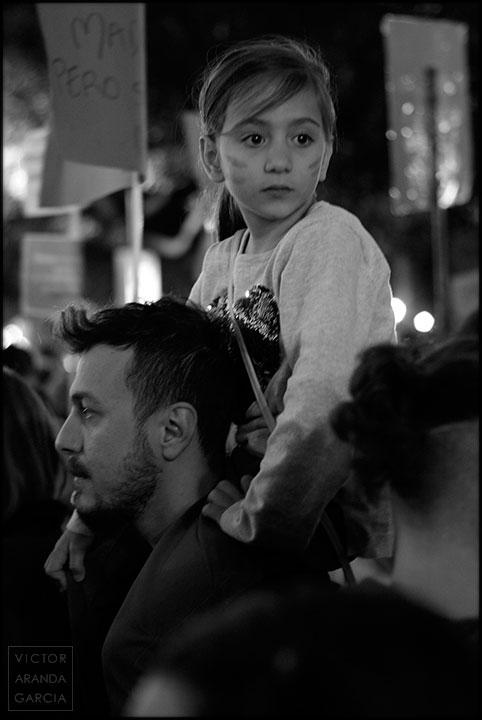 retrato,niña,dia,feminista,fotografia