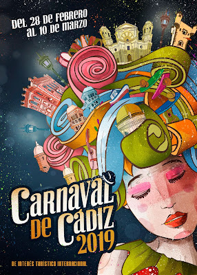 Cádiz - Carnaval 2019 - La Pelucádiz - Javier Urraco Pérez