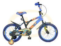 Sepeda Anak Wimcycle Superman BMX 16 Inci Lisensi