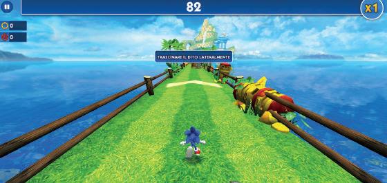 Sonic Dash gioco windows 10