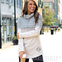 cowl neck sweater outfit