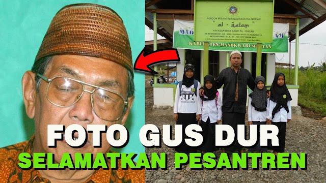 Cerita Pesantren di Papua Tak Jadi Dibakar karena Foto Gus Dur