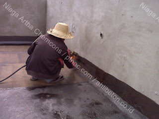 tips pasang waterproofing membrane