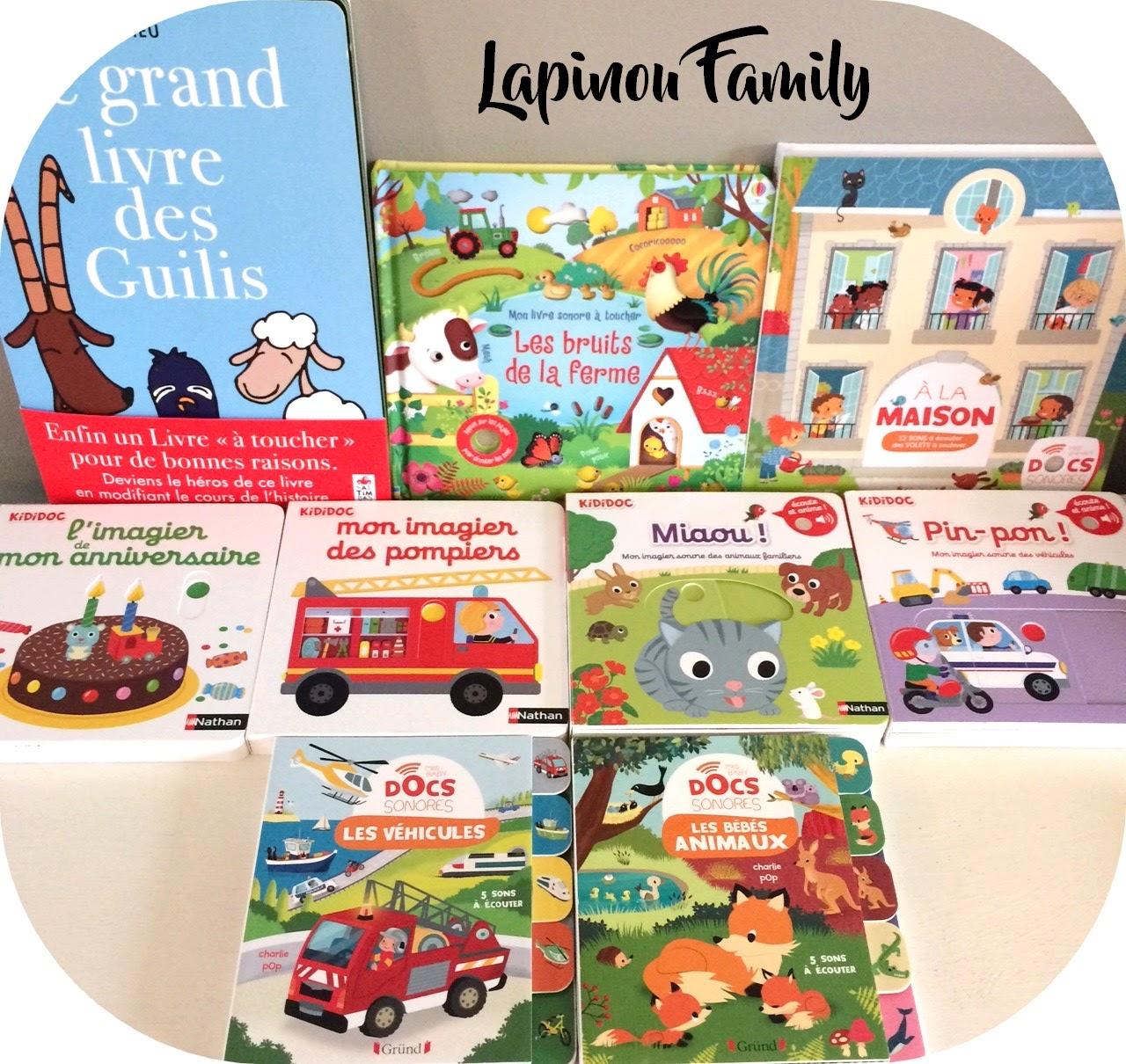 Chut Les Enfants Lisent 122 Lapinou Family