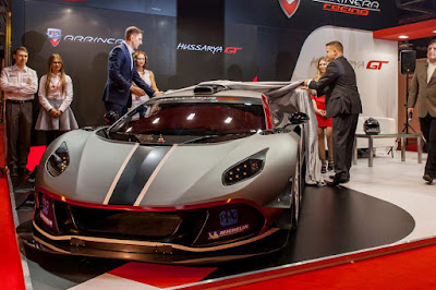 Arrinera Hussarya GT in auto show Hd Wallpapers