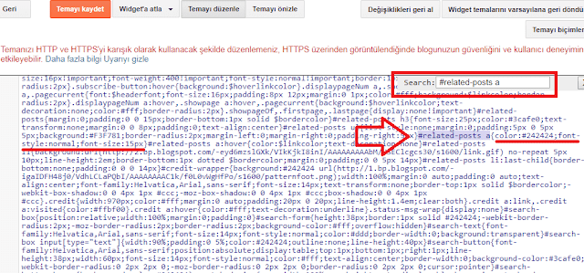 Blogger HTML