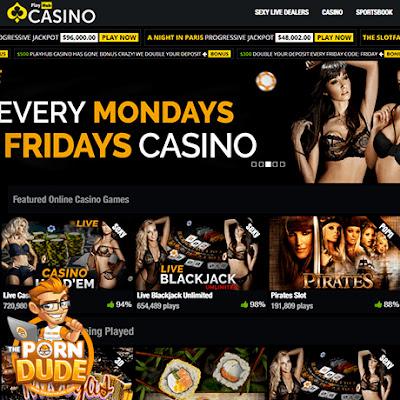 Casino Pornhub: über 100 verschiedene Spielautomaten und XXX-Spielen