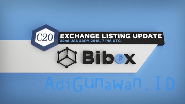 Situs Exchange dan Jual Beli Token Crypto20 (C20), Crypto20 Akan Launching di Exchange Berikut Ini