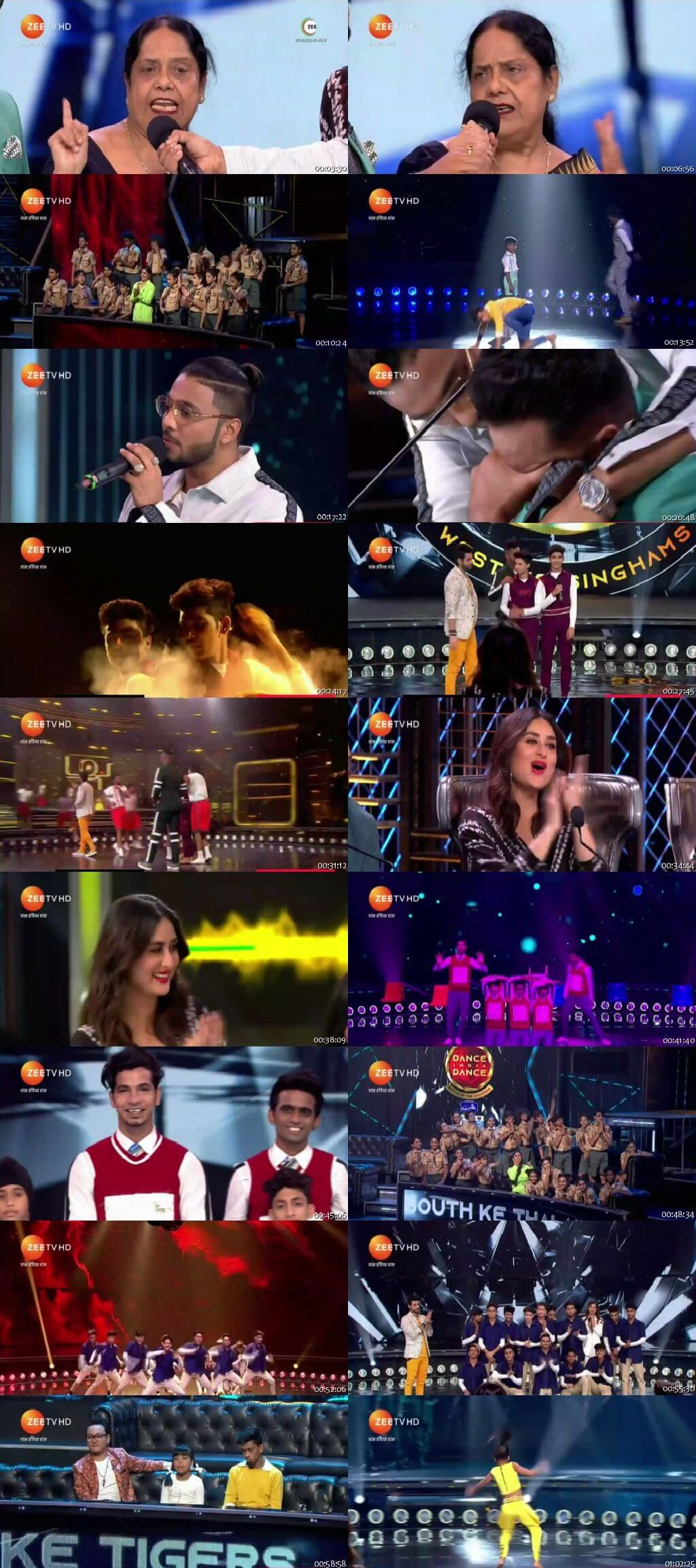 Screenshots Of Hindi Show Dance India Dance Battle of the Champions Season 7 1st September 2019 Episode 22 300MB 480P HD