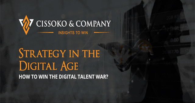 Strategy in the Digital Age: How to Win the Talent War? #infographic