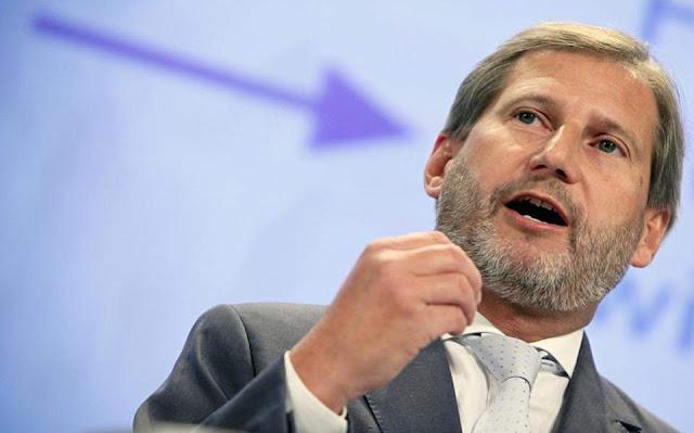 Επίτροπος Χαν: Σκόπια και Τίρανα μπορούν να αξιολογηθούν ξεχωριστά