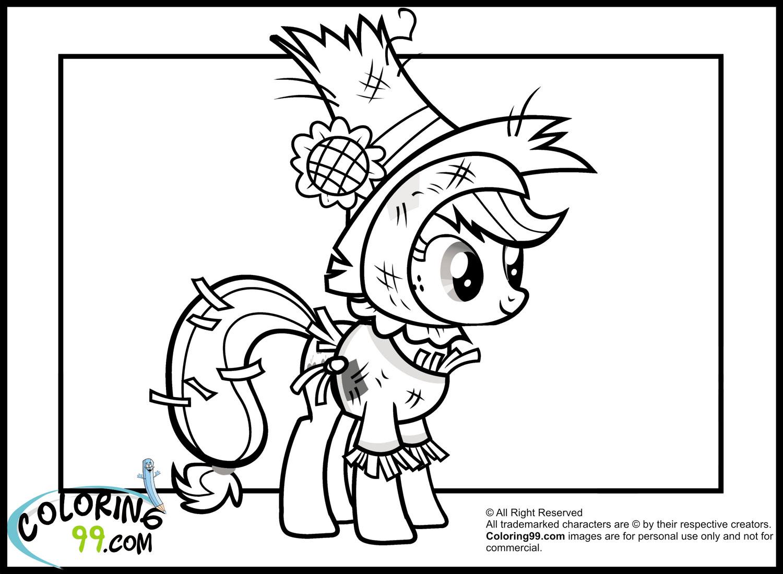 My Little Pony Applejack Coloring