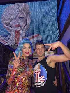 Me and drag superstar, Charlie Hides.