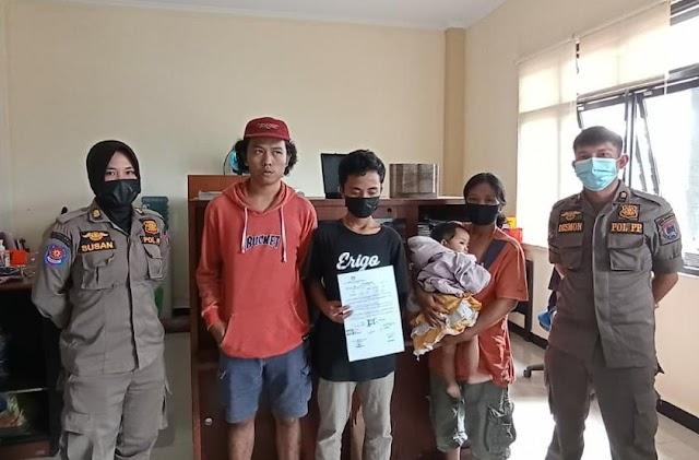 3 Pemuda Ngelem dan Bawa Sajam Diamankan Satpol PP Payakumbuh