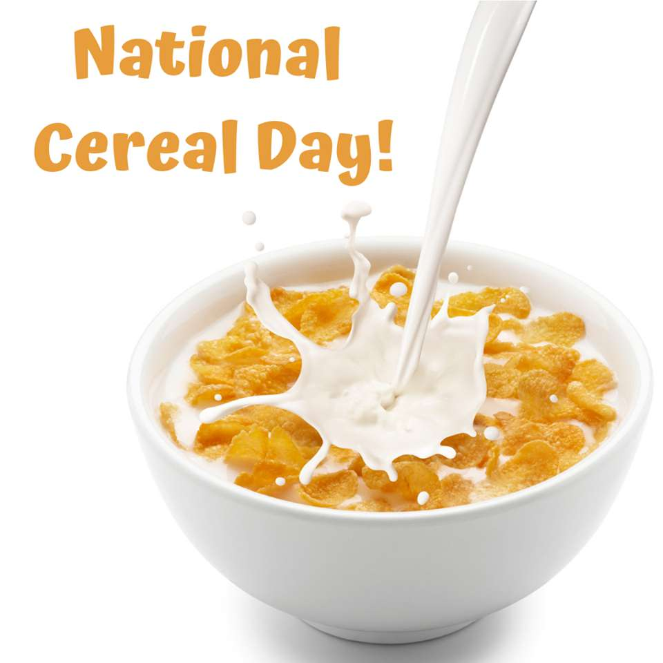 National Cereal Day Wishes Awesome Images, Pictures, Photos, Wallpapers