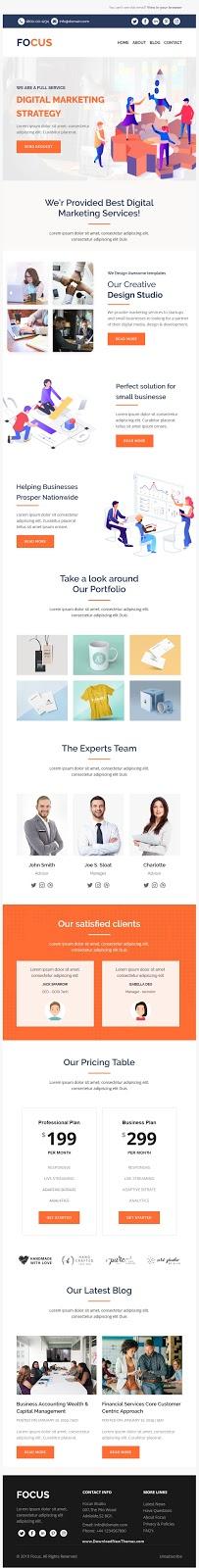 Premium Multipurpose Responsive Email Template