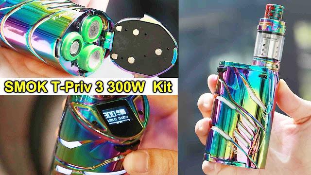 360W output SMOK T-priv 3 Vape Kit